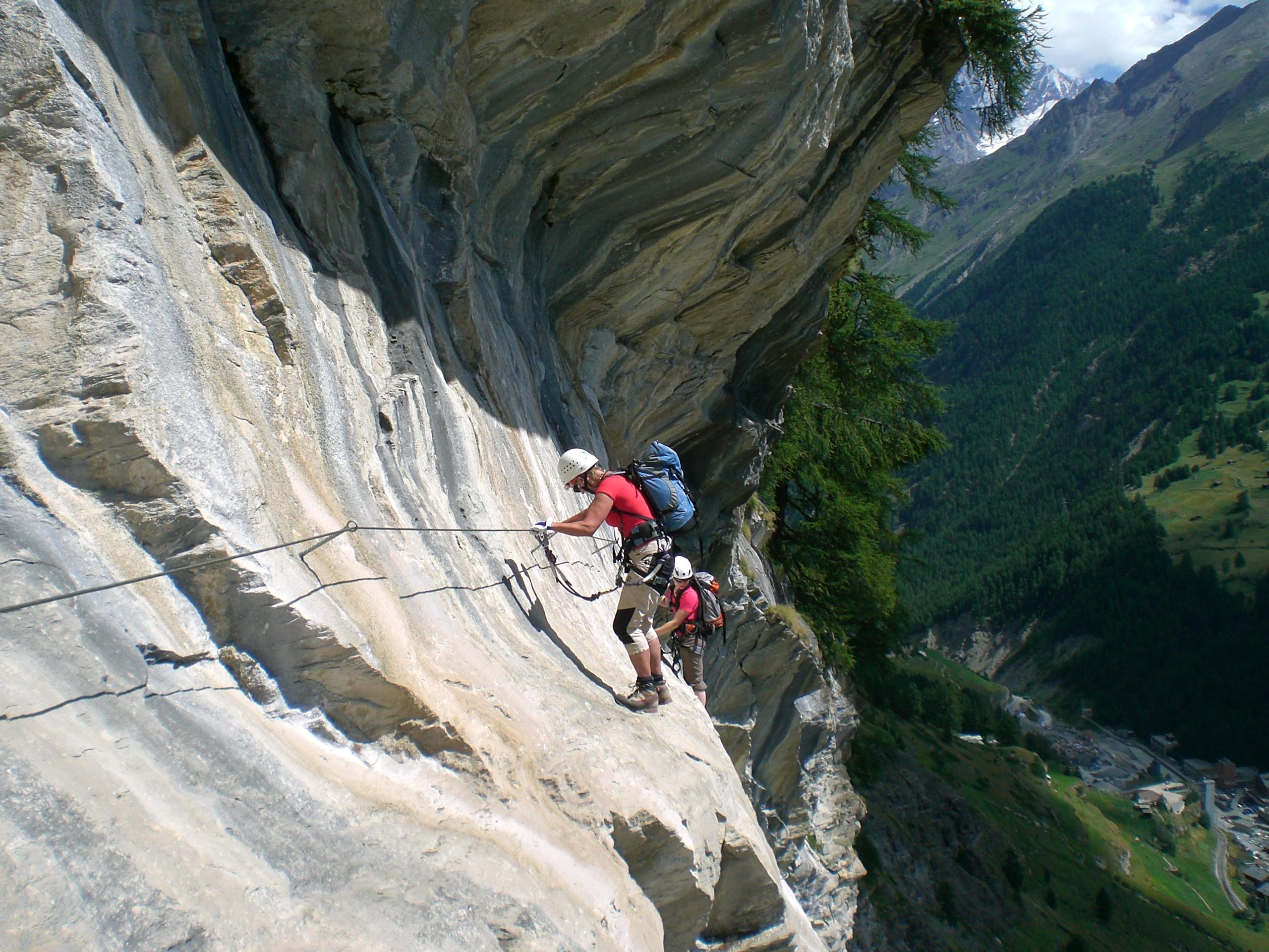 Klettersteig Grade : Mammut klettersteig schweifine faszination hochtouren