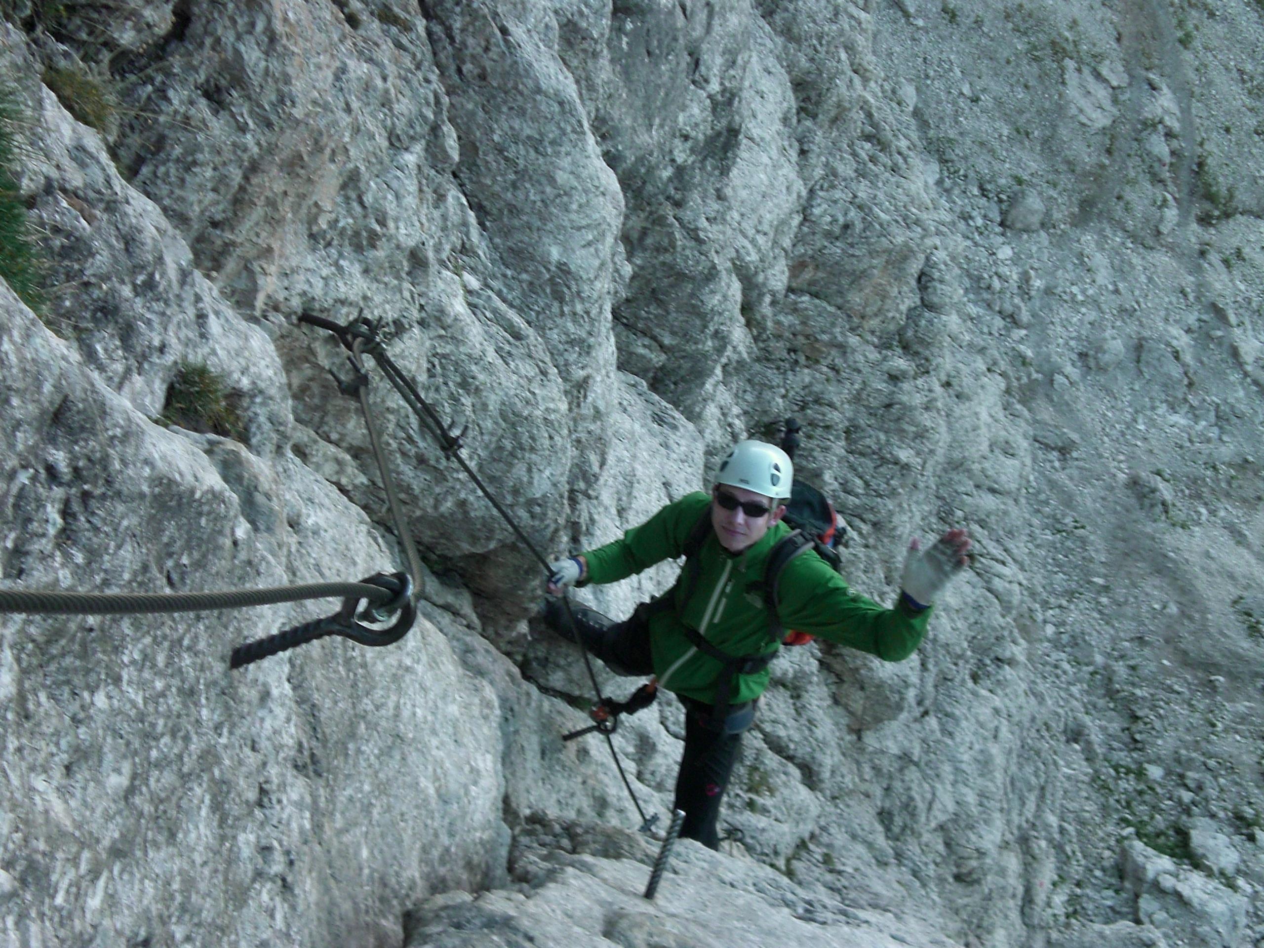 Klettersteig Pößnecker : Pößnecker klettersteig faszination hochtouren