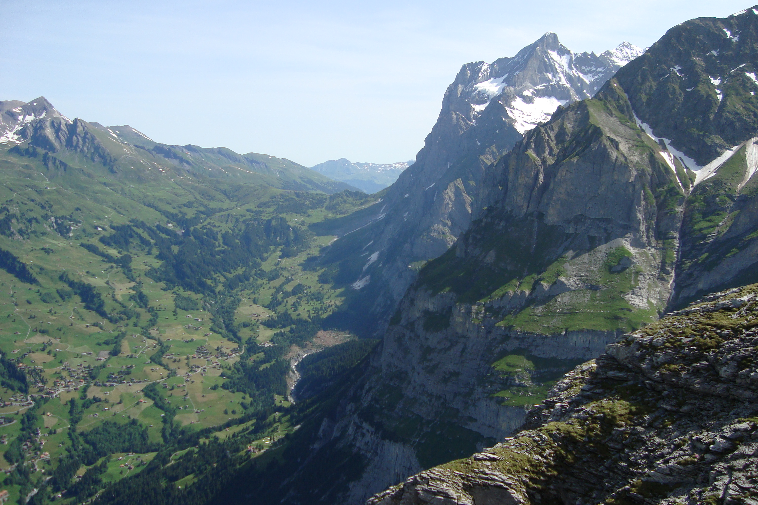 Klettersteig Ostegghütte : Eiger ostegghütte faszination hochtouren