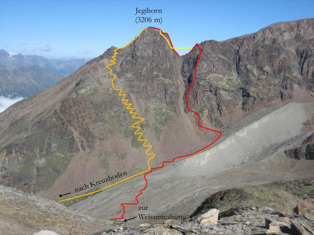 Jegihorn Klettersteig