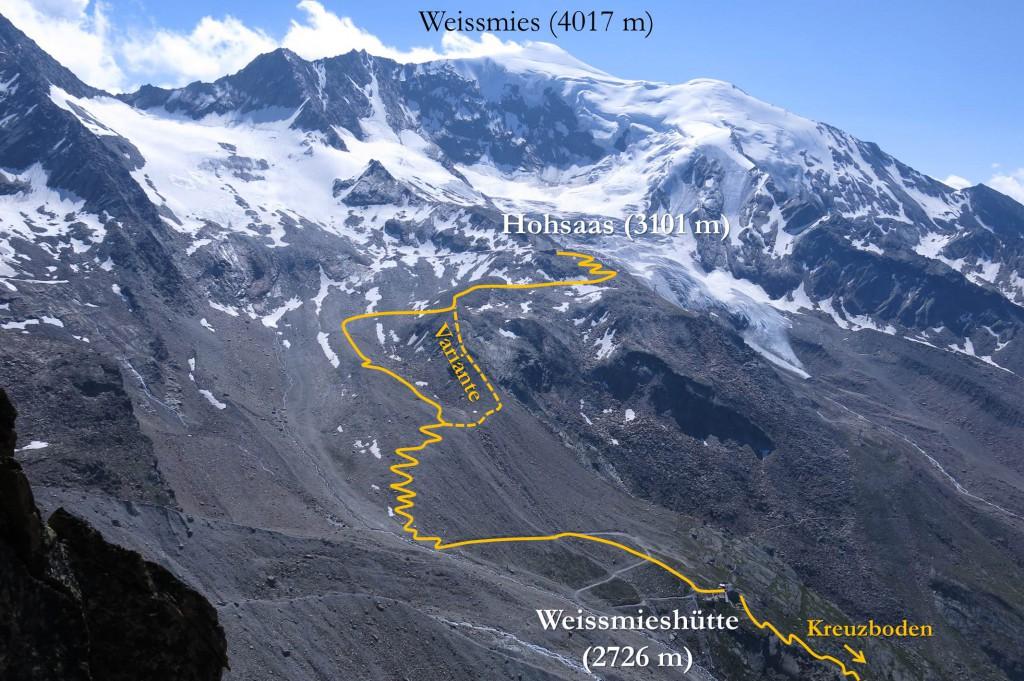 Wanderweg Hohsaas