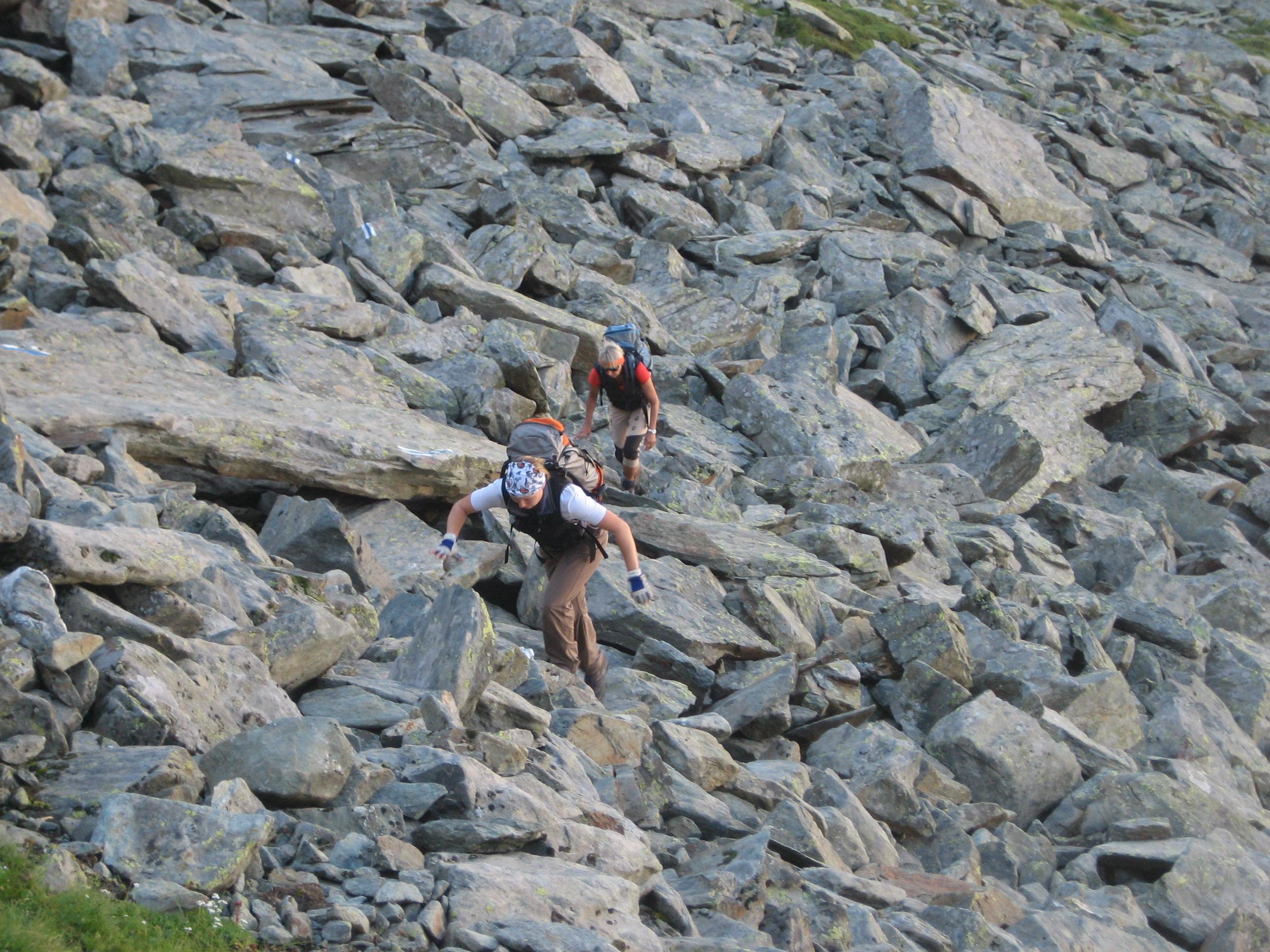Klettersteig Jegihorn : Mittaghorn klettersteig faszination hochtouren