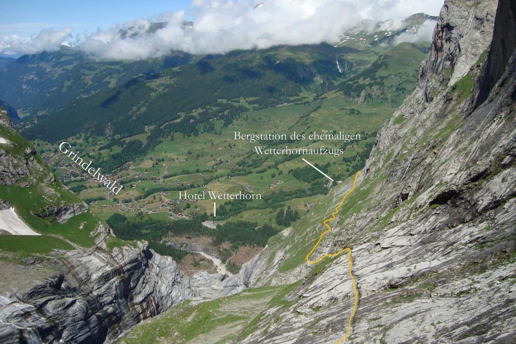 Oberer Abschnitt Glecksteinhüttenweg