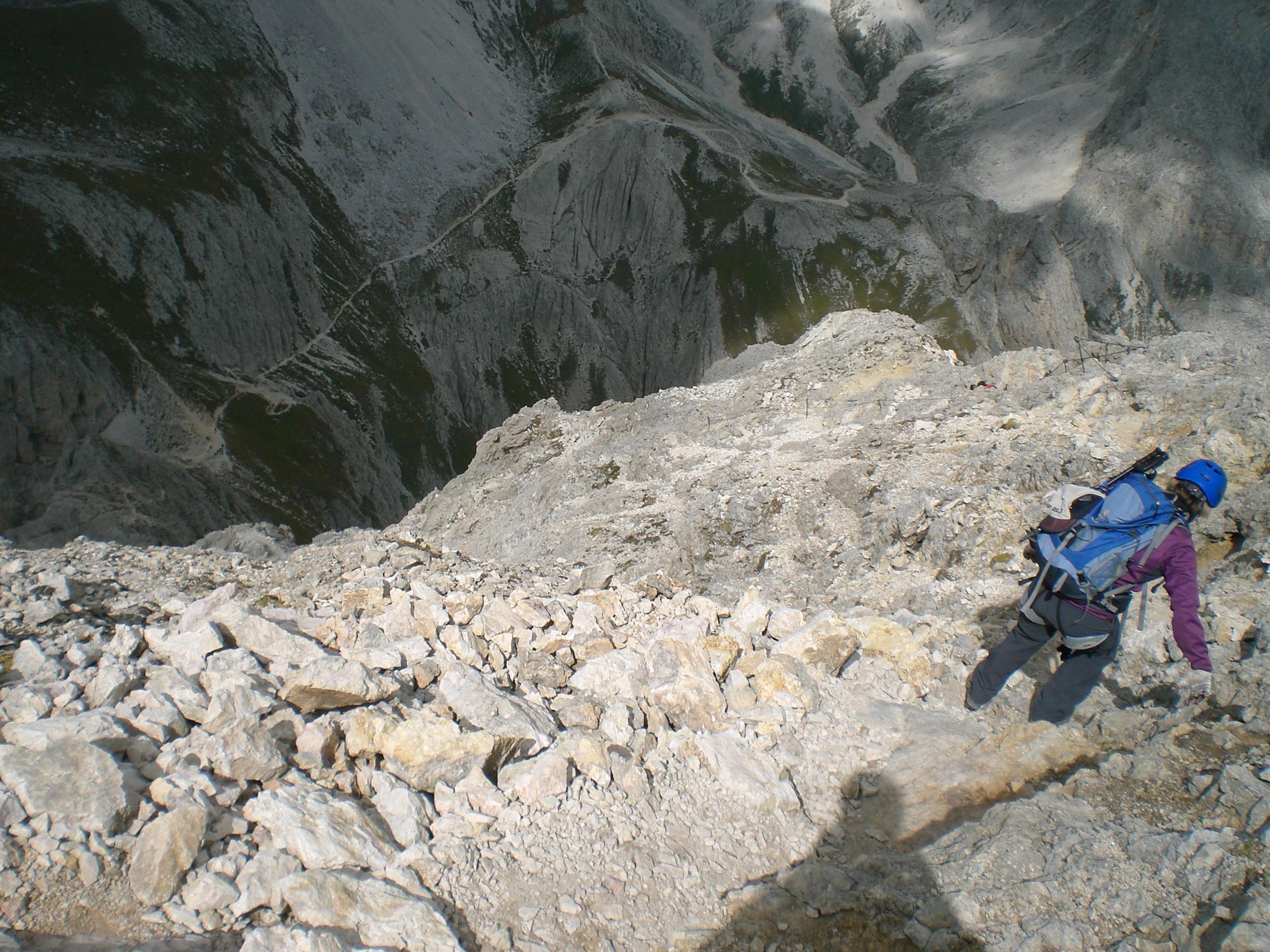 Klettersteig Rotwand : Masaré rotwand klettersteig faszination hochtouren