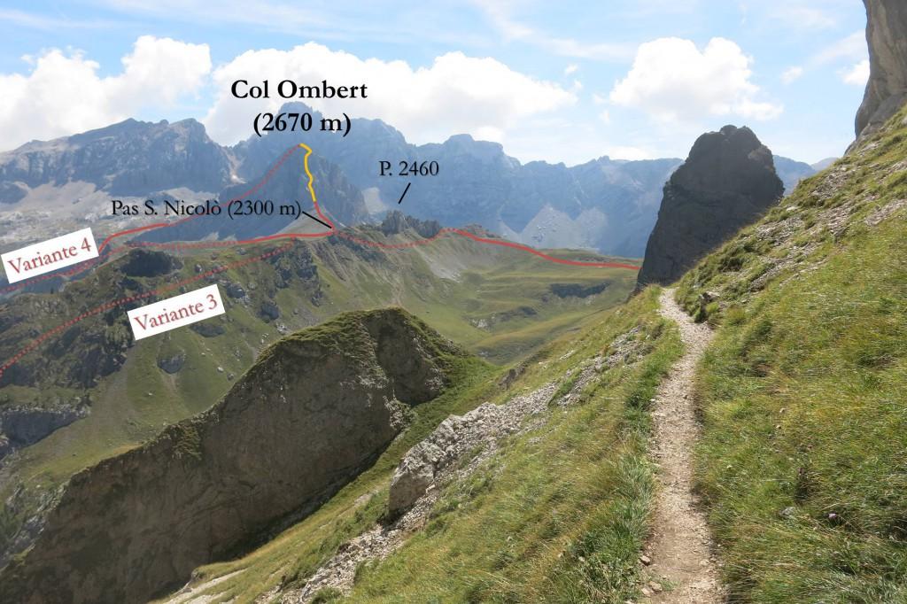 Finanzieri Klettersteig Col Ombert