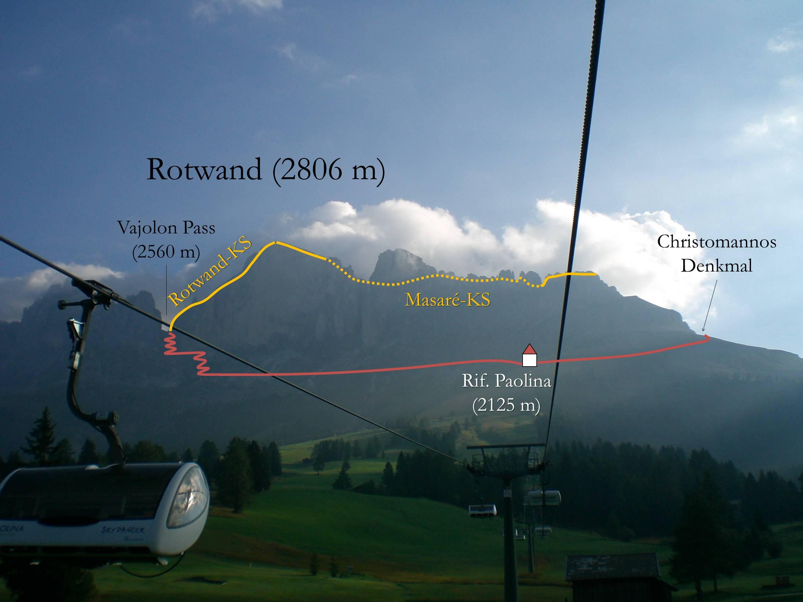 Klettersteig Rotwand : Oktober video bergtour mit rotwand klettersteig