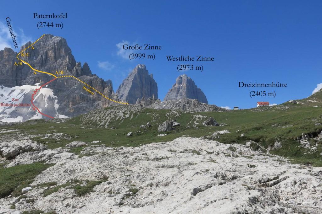 Paternkofel Klettersteig